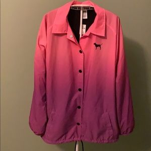 Pink NWT Lined Wind Braker